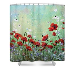 Field Of Imagination Two Shower Curtain