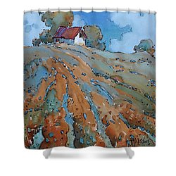 Field Play Shower Curtain