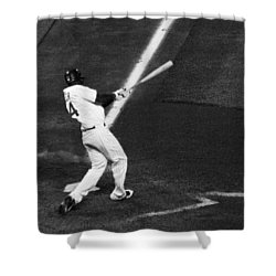 Fielder Fowler Shower Curtain by Marilyn Hunt