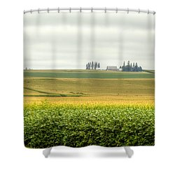 Fields Of Color Shower Curtain