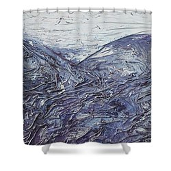 Fields Of Lavender Shower Curtain