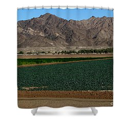 Fields Of Yuma Shower Curtain