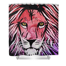 Shower Curtain featuring the painting Fierce Protector 1 by Nathan Rhoads