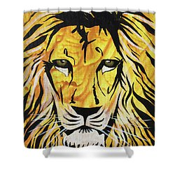 Shower Curtain featuring the painting Fierce Protector 2 by Nathan Rhoads