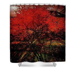 Fiery Dance Shower Curtain