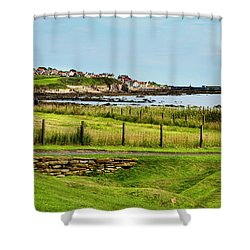 Fife Coastal Pathway Leading To Pittenweem Shower Curtain