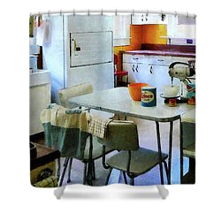 Fifties Kitchen Shower Curtain