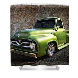 Fifties Pickup Shower Curtain