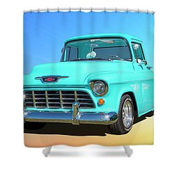 Fifty5 Stepside Pickup Shower Curtain