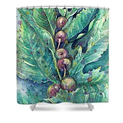 Figful Tree Shower Curtain