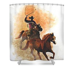 Fighting For Freedom Shower Curtain