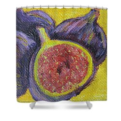 Four Figs  Shower Curtain