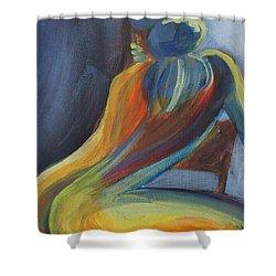 Figure II Shower Curtain