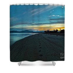 Fiji Dawn Shower Curtain