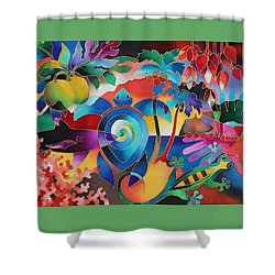 Fiji Memories Shower Curtain