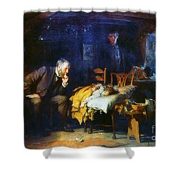 Fildes The Doctor 1891 Shower Curtain by Granger