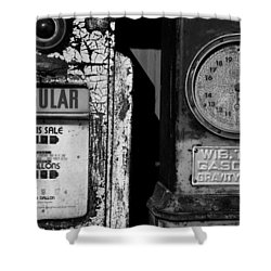 Fill Er Up Shower Curtain