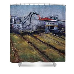 Fill'er Up Shower Curtain