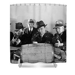 Film Still: Gangsters Shower Curtain by Granger