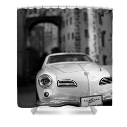Film Noir Shower Curtain by Salman Ravish