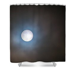 Filtered Sun Shower Curtain by David Gn