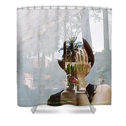 Fim Portrait Shower Curtain
