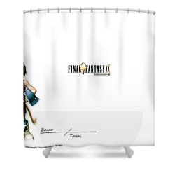 Final Fantasy IX Shower Curtain