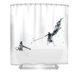 Final Fantasy Shower Curtain