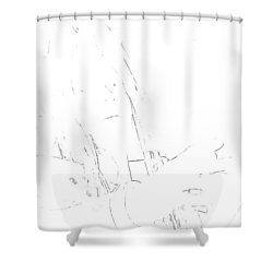 Final Fantasy Vii Advent Children Shower Curtain