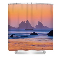 Shower Curtain featuring the photograph Final Moments by Darren White