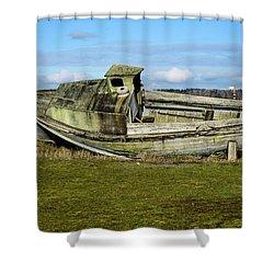 Final Port Shower Curtain