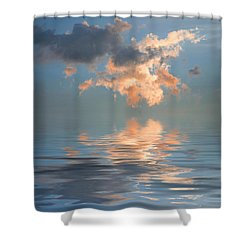 Final Words Shower Curtain by Jerry McElroy
