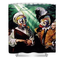 Finamorata Shower Curtain by Patrick Anthony Pierson