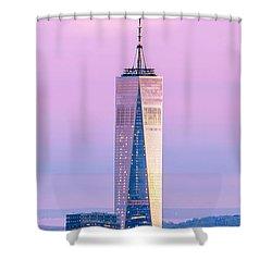 Finance Romance Shower Curtain