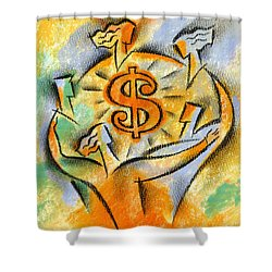 Financial Success Shower Curtain