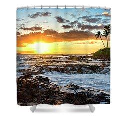 Find Your Beach 2 Shower Curtain