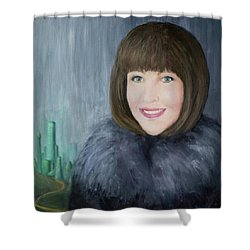 Finding The Emerald City Shower Curtain