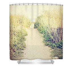 Shower Curtain featuring the photograph Finding Your Way by Trish Mistric
