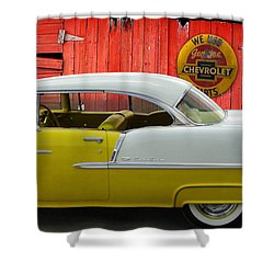 Shower Curtain featuring the photograph Fine 55 by Rod Seel