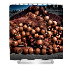 Fine Art Colour-106 Shower Curtain