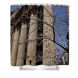 Shower Curtain featuring the photograph Fine Art Columns by Ivete Basso Photography