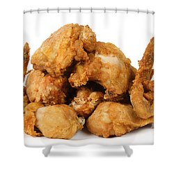 Fine Art Fried Chicken Food Photography Shower Curtain by James BO  Insogna