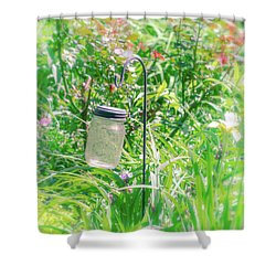 Shower Curtain featuring the photograph Fine Creek No. 1 by Laura DAddona
