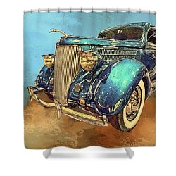 Fine Ride Shower Curtain