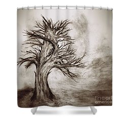 Finis 3 Shower Curtain