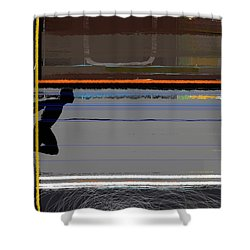 Finish 2 Shower Curtain by Naxart Studio