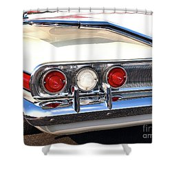 Fins Were In - 1960 Chevrolet Shower Curtain