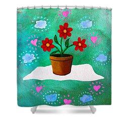 Orsanniah-orssanniae Shower Curtain
