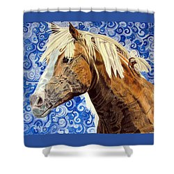 Fiosa Shower Curtain by Melita Safran