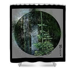 Fir Trees - 3 Ages Shower Curtain
